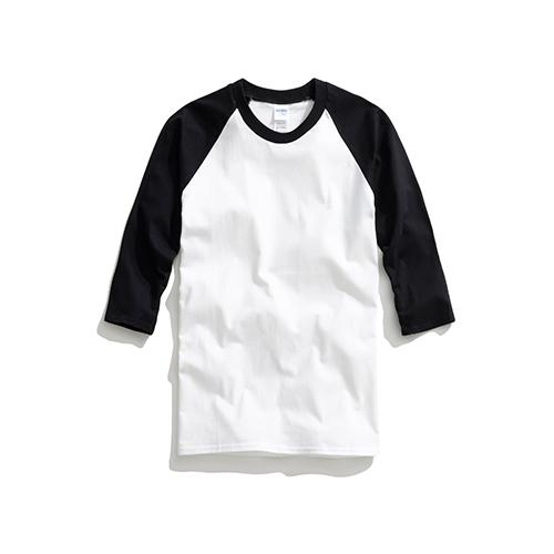 棒球七分袖圓領短袖 | inif印衣服,巧昱服飾設計有限公司