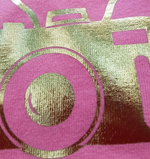A.亮金膠膜印刷15x10